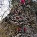 einfacher das Abstiegen über die nachfolgende Felsnase