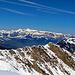 in weiter Ferne der Alpstein