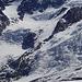 Ende April fast schon schneefreie Gletscherbrüche