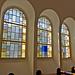 Farbenfrohe Fenster