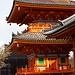Die bunte Pagode am Kiyomizu-dera / 清水寺.