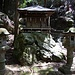 Ein winziger Schrein im Wald oberhalb von Nanzen-ji / 南禅寺.