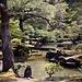 "Der schön angelegte Garten des ""Silbertempels"" Ginkaku-ji / 銀閣寺."