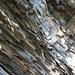 am Wegesrand gibt es aber auch schöne Felsschichten