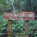 der hintere Teil heißt eigentlich Giant Kingfisher Trail, der vordere Half Collared Kingfisher Trail