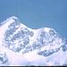 Der Aufstieg zur Jungfrau vom Rottalsattel (Teleaufnahme)