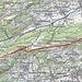 Routenverlauf<br /><br />Quelle: SchweizMobil