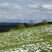 Schnee im Voralpenland