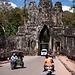 Das Südtor von Angkor Thom.