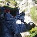 Tourinette in der 2. Rinne (II) von oben