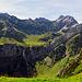 Blick hinüber von der Altenalp zur Meglisalp