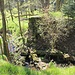 Fürstenwaldský mlýn, Mühlteichdamm, zerstörtes Stauwehr