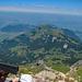 Musenalp und Buocherhorn vom Gipfel aus gesehen.
