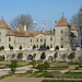 Das Schloss Prangins, erbaut zw. 1728 und 1739