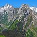 auf dem Weg von den Staubern zur Saxerlücke, eine gigantische Bergwelt