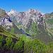 auf dem Weg von den Staubern zur Saxerlücke, der Kern vom Alpstein