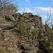 Lipská hora - Wenige Meter unterhalb des Gipfels.