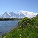 Sur le Tour du Mont Blanc: Au lac des Chéserys