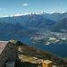 Panorama vom Monte Gambarogno