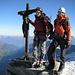 Auf dem Gipfel des Zinalrothorn 4221m