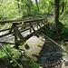 Holzbrücke in der Nähe von Haumüli