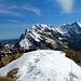 auf dem Gipfel vom Neuenalpspitz hat es noch etwas Schnee