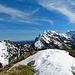 auf dem Grat zur Gmeinenwishöchi hat es noch recht Schnee