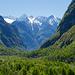 Blick über das Val Bavona hinab