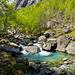 Fiume Calnègia - kristallklares Wasser