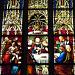 Kirchenfenster in der Cathédrale Saint-Pierre in Genève