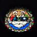 Chorfenster in der Kirche St-Aquilin in Frangy
