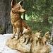 beim Morgenholz beginnt ein Skulpturenweg mit über 40 Holz-Skulpturen. Eine musste ich da wohl ablichten.