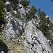 Aufstieg zum Haggenspitz - im unübersichtlichen unteren Teil