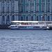 Ein schönes altes Tragflächenboot aus der Sowjet-Ära.