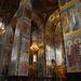 Der Innenraum der Auferstehungskirche ist komplett mit Mosaiken ausgestaltet.
