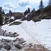 Verschneite Karstlandschaft auf Oberbärgli