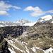 Veduta verso il Passo Portula con M.Aga, Pizzo Rondenino e probabile M.Grabiasca.