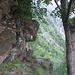 """Passaggio """"segreto""""... l'unico tratto orizzontale del sentiero del Bregamin"""