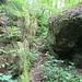 Felsenweg Ebelova cesta, Notausgang für verängstigte Wanderer