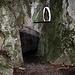 Durch diese Höhle wird man gehen...