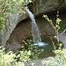 Der Wasserfall in der Töss, nahe beim Chatzentobel