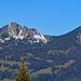 Aussicht vom Muttersberg zur Mondspitze und dem Schillerkopf