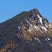 Aussicht vom Muttersberg, die Mondspitze, in diesem Winter war ich den vorderen Grat mit den Schneeschuhen herunter gelaufen. [http://www.hikr.org/tour/post119174.html]<br />