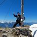 super schöner Aufstieg, und traumhafte Aussicht auf dem Gipfel an diesem schönen Tag.