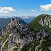 Blick von der Elsspitze zum Breithorn