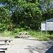 "Ausgangspunkt Parkplatz ""Milseburgradweg"" bei Fulda-Götzenhof"