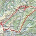 Unsere Route (Quelle map.geo.admin.ch)