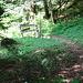 Combe du Pont, der Ausstieg