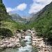 Il torrente Redorta.