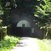 das Westportal des Milseburgtunnels